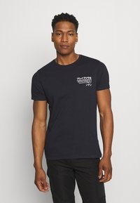 Brave Soul - T-shirt med print - blue - 2