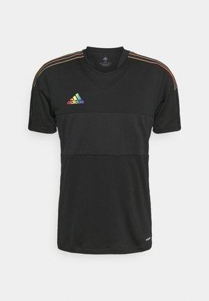 TIRO PRIDE - Print T-shirt - black
