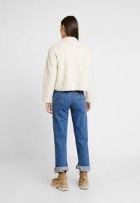 New Look - HALF ZIP - Sweatshirts - cream - 2