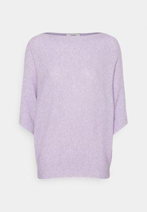BEHAVE  - Strikkegenser - pastel lilac melange