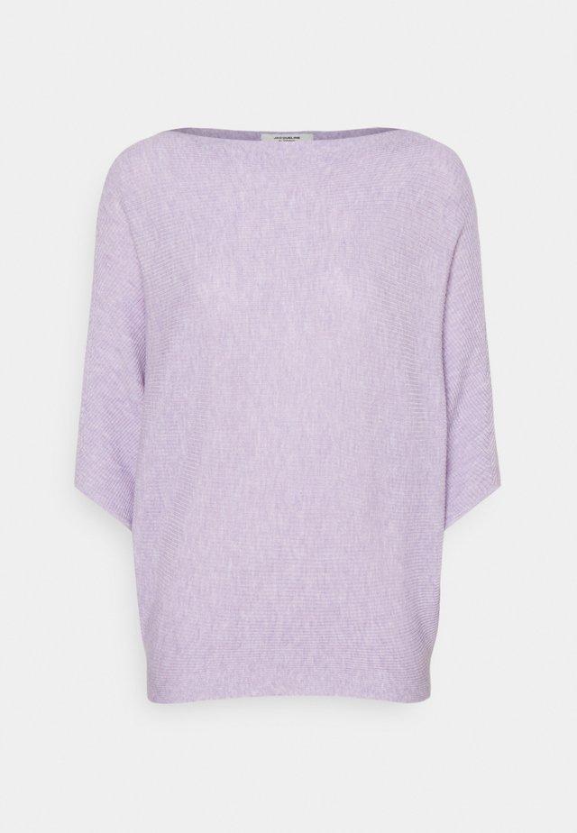 JDYNEW BEHAVE BATSLEEVE - Sweter - pastel lilac melange