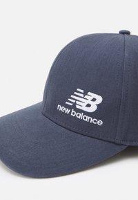 New Balance - TEAM STACKED SNAPBACK UNISEX - Cap - thunder - 3