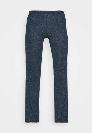 GLITTER FLARE - Leggings - Trousers - navy
