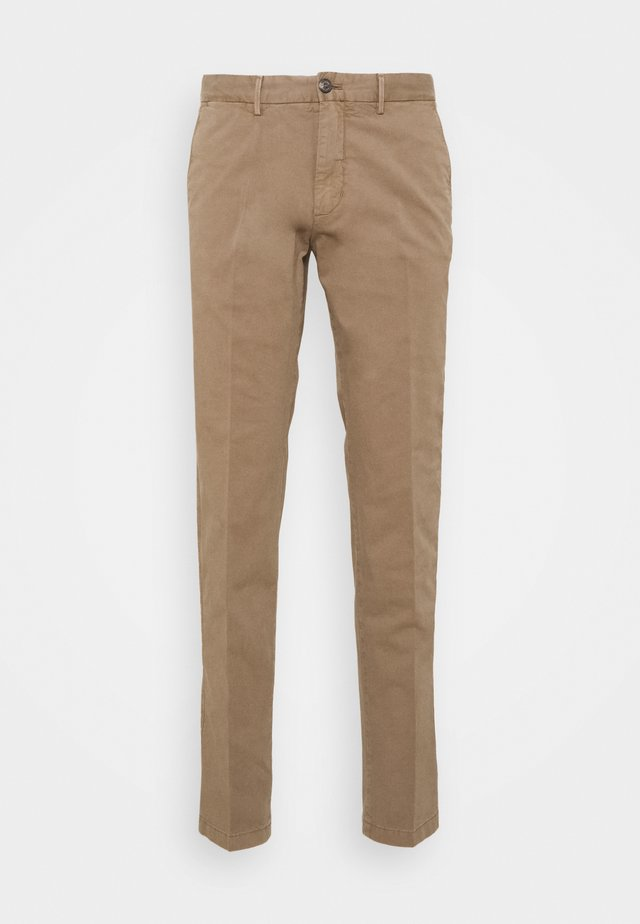 FLEX - Trousers - brown