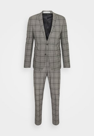 CHECK - Suit - grey