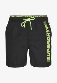 Superdry - STATE VOLLEY SWIM - Surfshorts - black - 2