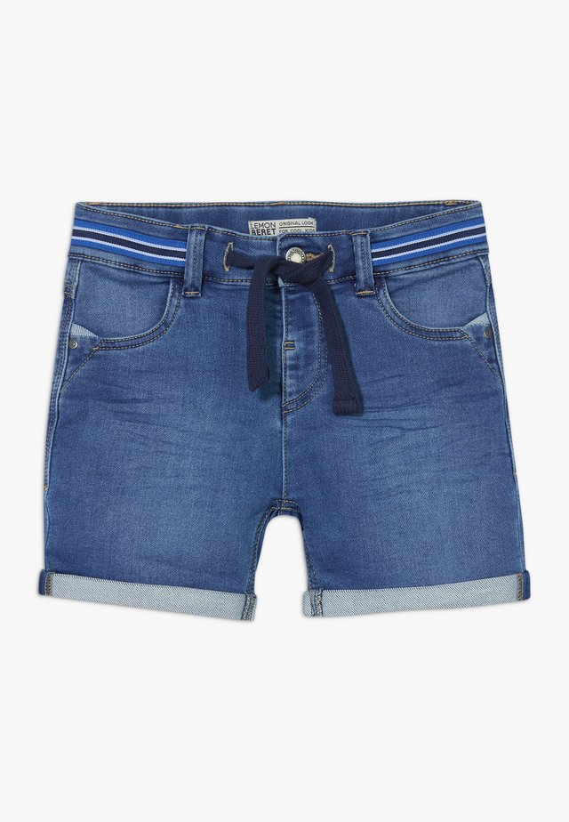 TEEN BOYS BERMUDA - Shorts di jeans - blue