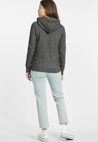 Oxmo - CELIA - Zip-up sweatshirt - black - 2