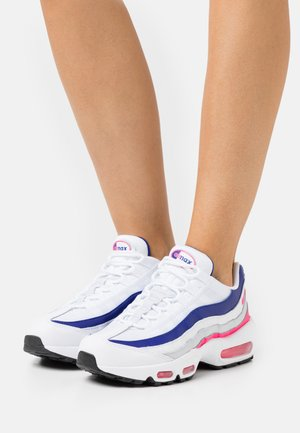 AIR MAX 95 - Zapatillas - white/hyper pink/concord/pure platinum/black