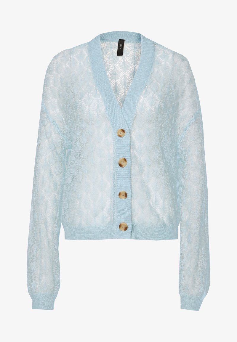 YAS - YASECCO CARDIGAN - Cardigan - cool blue