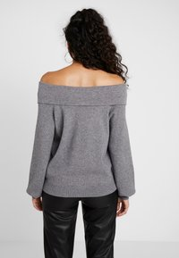 Noisy May - Cardigan - medium grey melange - 2