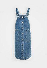 Monki - MARIA DRESS - Denim dress - blue medium dusty blue - 4