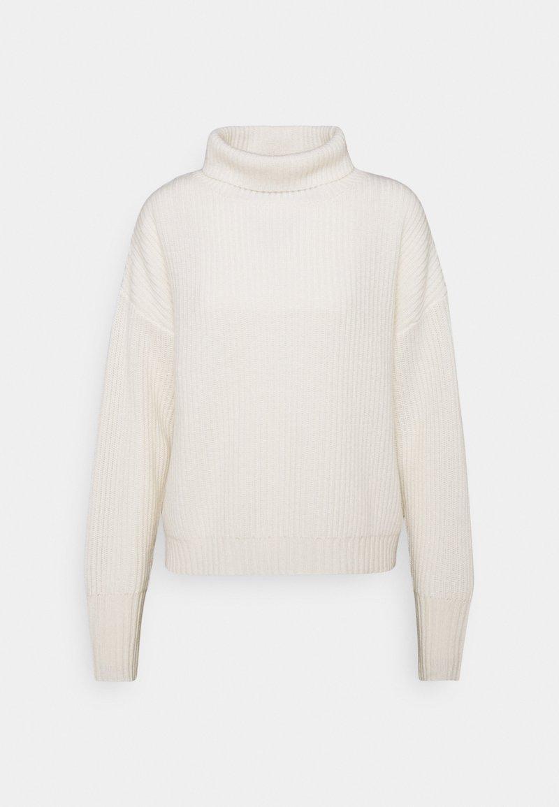 FTC Cashmere - HIGHNECK - Jumper - pristine white