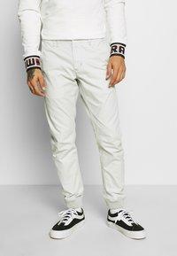 G-Star - VETAR CUFFED SLIM - Trousers - cool grey - 0