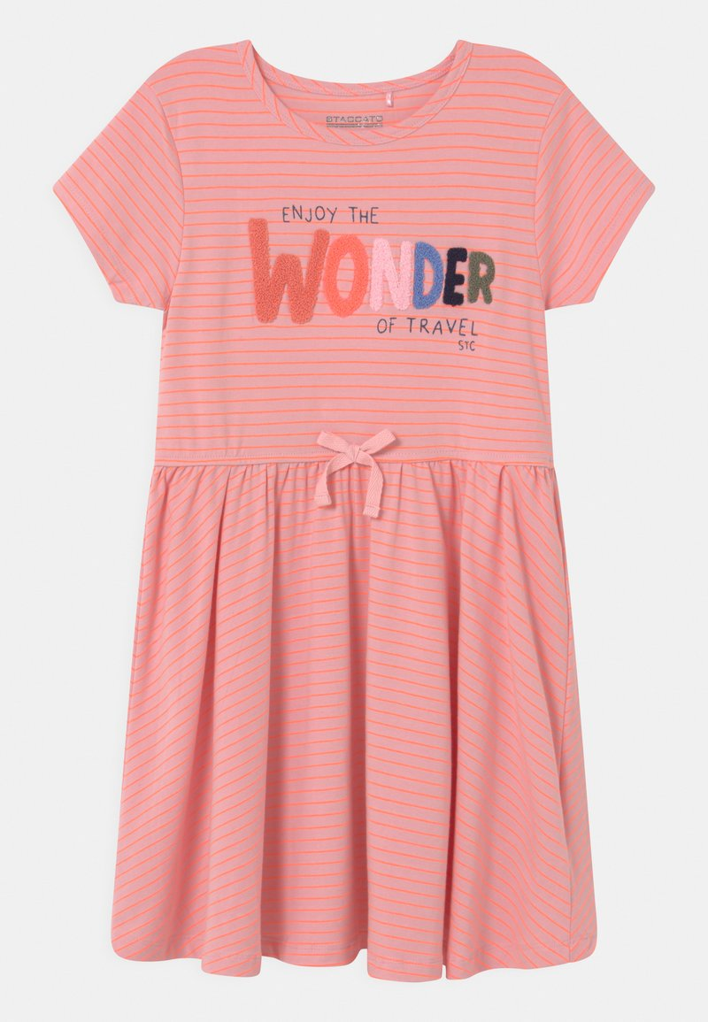 Staccato - KID - Jersey dress - coral