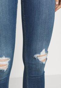 Hollister Co. - CURVY KNEE - Skinny džíny - blue denim - 3