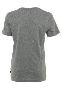 Puma - LOGO UNISEX - Camiseta estampada - medium gray heather - 1