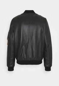 MOSCHINO - Leather jacket - black - 1