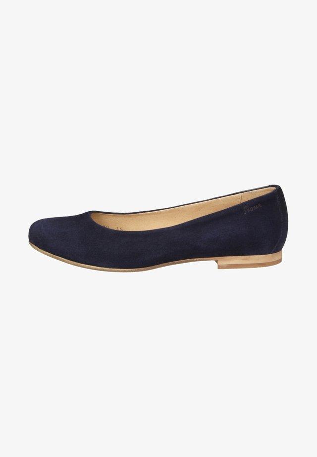 HERMINA - Ballet pumps - blue