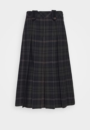 GIA SKIRT - Gonna a campana - dark blue