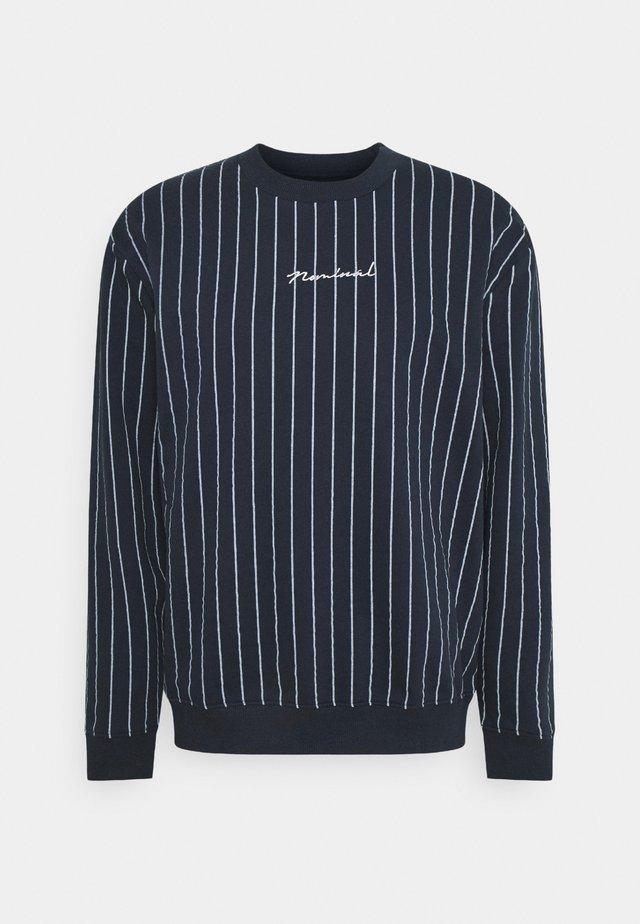 MOTION CREW - Sweatshirt - navy