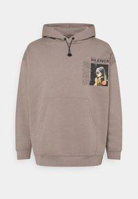 RETHINK Status - UNISEX HOODY EMBROIDERED - Sweatshirt - stormfront - 0