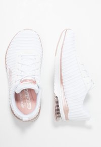 Skechers Sport - SKECH AIR - Trainers - white/rosegold - 3