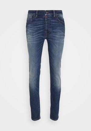 MORTEN REPAIRED - Skinny džíny - mid blue