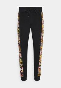 Versace Jeans Couture - HEAVY PRINT VERSAILLES - Tracksuit bottoms - black - 6