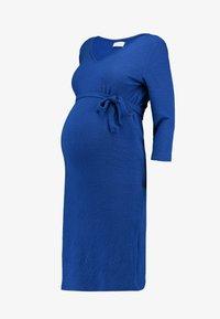 MAMALICIOUS - MLLARISSA DRESS - Vestido ligero - mazarine blue - 5