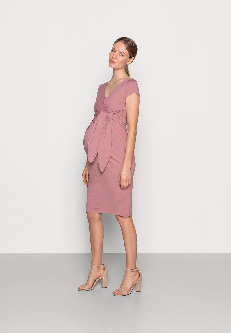 9Fashion - HOLLY NEW II - Sukienka etui - grey pink