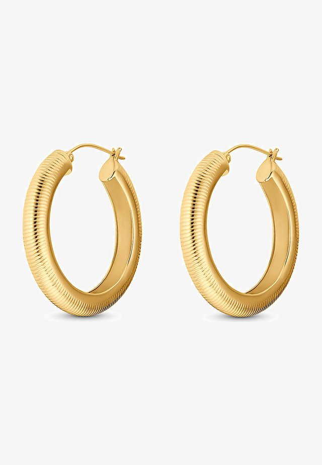 CREOLE - Earrings - gold