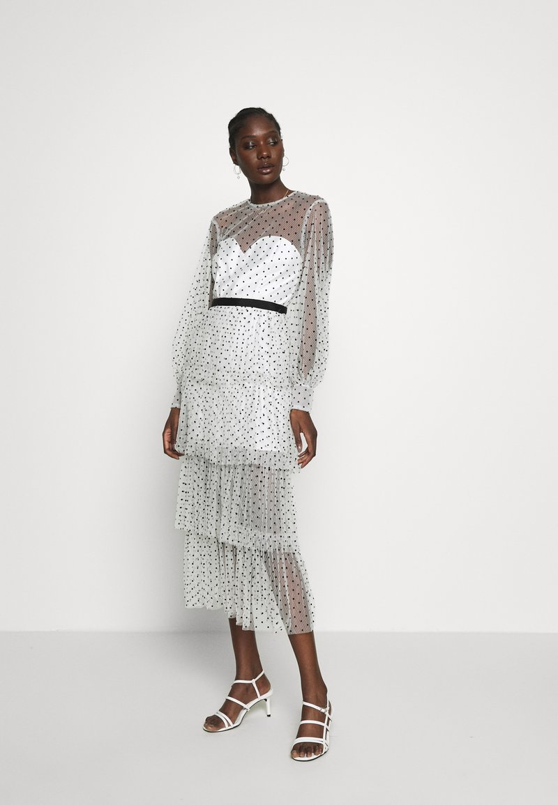 Alice McCall - MYSTERIA MIDI DRESS - Cocktail dress / Party dress - porcelain