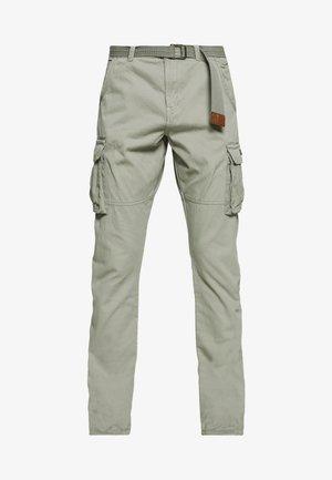 WILLIAM - Cargo trousers - light grey