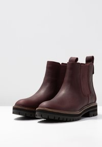 Timberland - LONDON SQUARE CHELSEA - Boots à talons - dark port mincio - 4