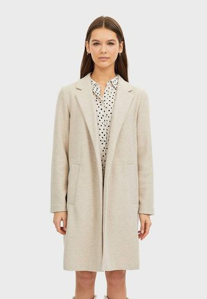 STRICKMANTEL 05899430 - Classic coat - white