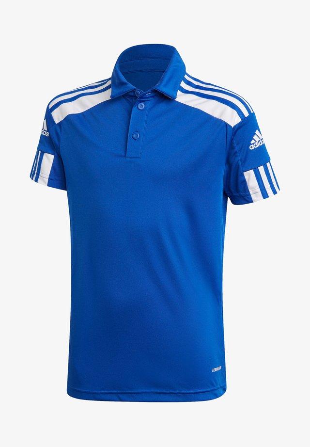 SQUADRA - Poloshirt - blauweiss
