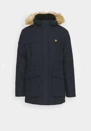 PLUS WINTER WEIGHT LINED - Winter coat - dark navy