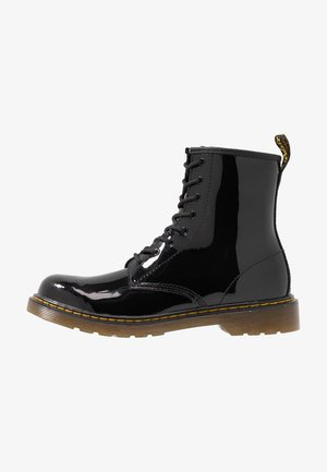 1460 - Bottines à lacets - black