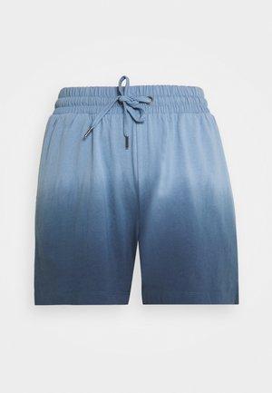 NMOMBRE - Shorts - faded denim/ombre dark denim