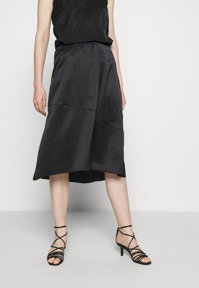 SKIRT - A-snit nederdel/ A-formede nederdele - pure black