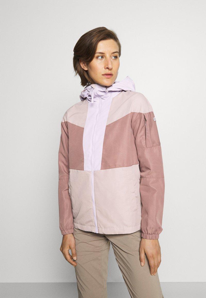 Columbia - WALLOWA PARK™ LINED JACKET - Outdoor jacket - pale lilac/mauve vapor/mocha