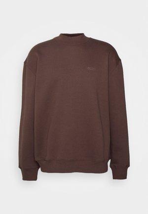 HEAVY CREWNECK UNISEX - Ikdienas džemperis - brown