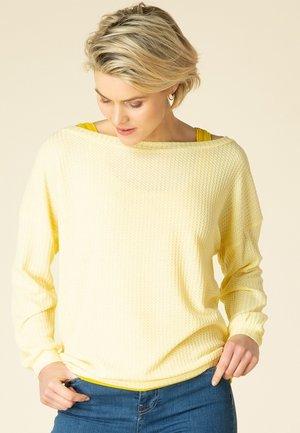 NELLY - Trui - yellow