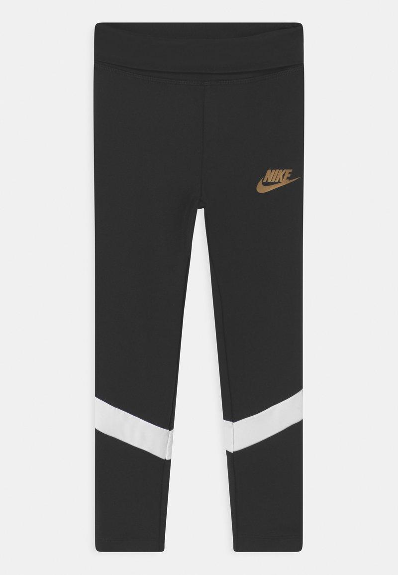Nike Sportswear - GO FOR GOLD  - Leggings - Trousers - black