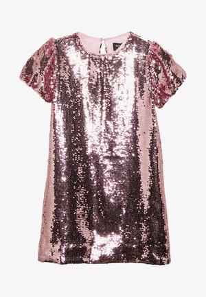 HARRIET SEQUIN DRESS - Koktejlové šaty/ šaty na párty - pink rose