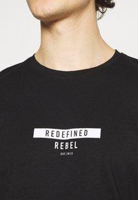 Redefined Rebel - GUTI TEE - Long sleeved top - black - 6