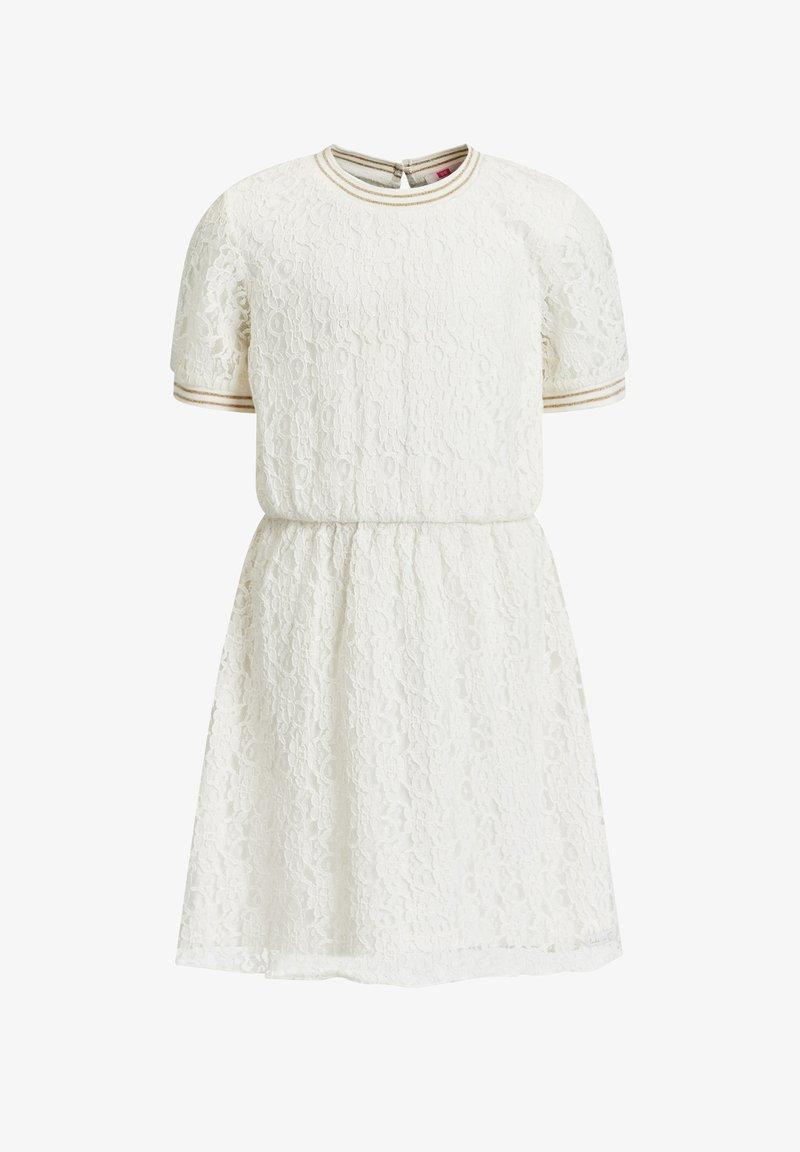 WE Fashion - Jurk - white