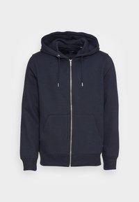 JESOFT BASIC ZIP HOOD - Zip-up sweatshirt - navy blazer