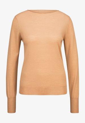 Sweatshirt - 5 camel